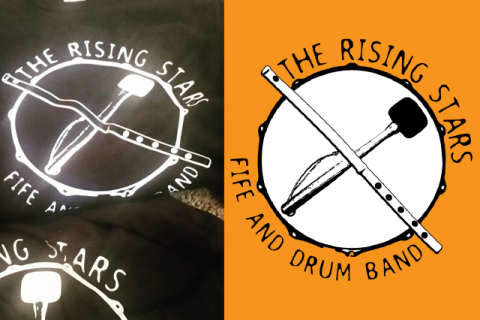 The Rising Star Fife and Drum Band
