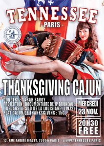 poster thanksgiving Tennessee Paris